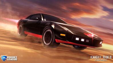 Knight Rider hero art