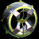 Blender wheel icon saffron
