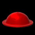 Brodie helmet topper icon crimson