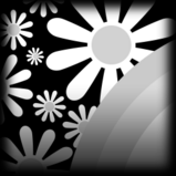 Flower Power decal icon
