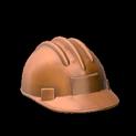 Hard hat topper icon burnt sienna