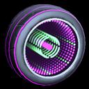 Infinium wheel icon purple