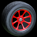 Octavian wheel icon crimson
