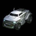 Road Hog body icon titanium white
