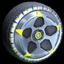 Diomedes wheel icon saffron