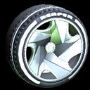 Reaper wheel icon titanium white