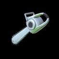 Chainsaw topper icon titanium white