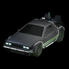 DeLorean Time Machine body icon