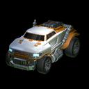 Road Hog body icon orange