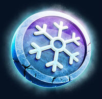 Snowflake currency icon
