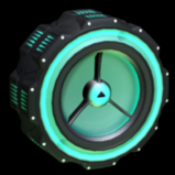 Woofer wheel icon