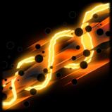 Bandwidth rocket boost icon