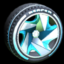 Reaper wheel icon sky blue