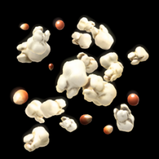 Popcorn rocket boost icon