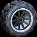Almas wheel icon black