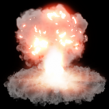 Tactical Nuke goal explosion icon