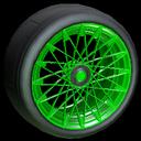 Yamane wheel icon forest green