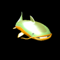 Catfish topper icon orange