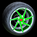 Quimby wheel icon forest green