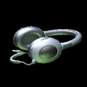 MMS Headphones topper icon black