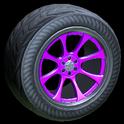 Octavian wheel icon purple