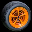 Veloce wheel icon orange