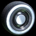 Ratrod wheel icon black