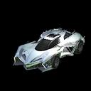 Chikara GXT body icon titanium white
