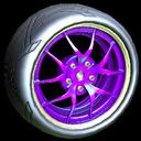 Nipper wheel icon purple