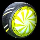 Peppermint wheel icon saffron