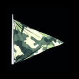 Camo Flag antenna icon