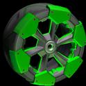 Clodhopper wheel icon forest green