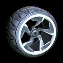 Chakram wheel icon grey