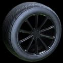 Dieci wheel icon black