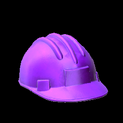 Hard hat topper icon purple