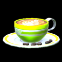 Latte topper icon lime