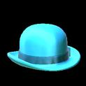Derby topper icon sky blue