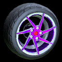 Quimby wheel icon purple