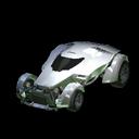 X-Devil body icon titanium white