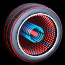Infinium wheel icon crimson