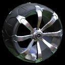 Picket wheel icon titanium white