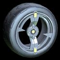 Zeta wheel icon saffron