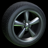 Fast & Furious Dodge Charger wheel icon black