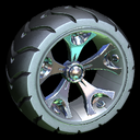Wrench-Roller wheel icon black