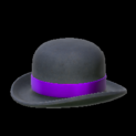 Bowler topper icon purple