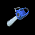 Chainsaw topper icon cobalt
