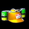 Drink helmet topper icon orange