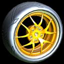 Nipper wheel icon orange