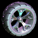 Wrench-Roller wheel icon pink