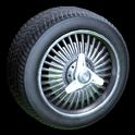 Lowrider wheel icon grey